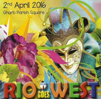 Rio Goes West: Gozo Spring Carnival in Gharb next Saturday