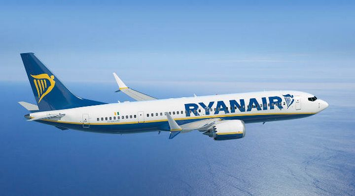 50,000 Ryanair seats on sale from €9.99 for travel October-December
