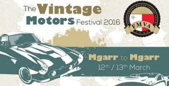 Vintage Motors Festival: Mgarr Malta to Mgarr Gozo next weekend