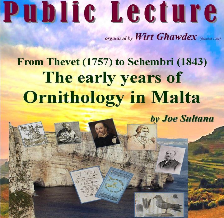 Wirt Ghawdex lecture The early years of Ornithology in Malta