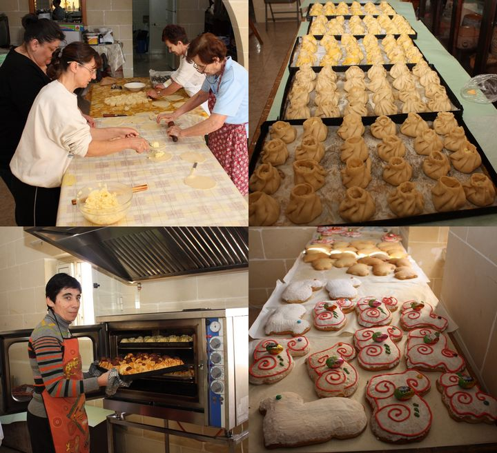 Xaghra Easter Bazaar selling local, homemade traditional food