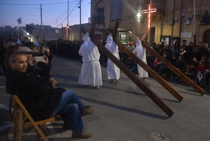 Passion of Our Lord: Good Friday Procession in Zebbug