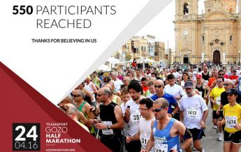 Teamsport Gozo Half Marathon attracts more than 550 participants