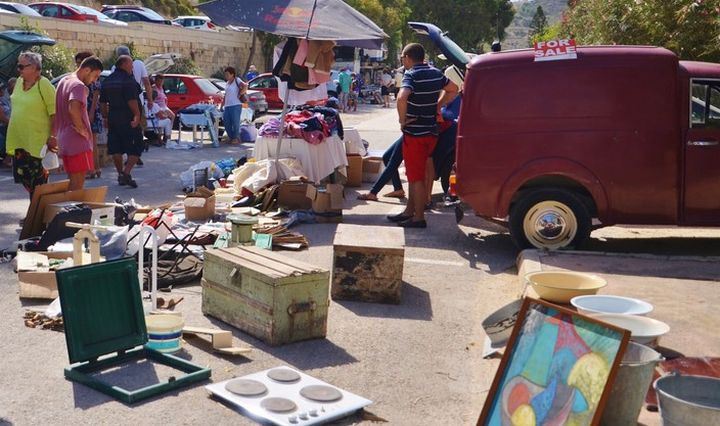 Arka Foundation car boot sale next Sunday in Marsalforn