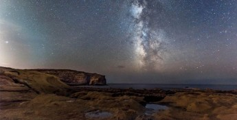 Enjoy a Christmas night viewing starry skies at Dwejra, Gozo