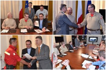 Gozo's ERRC signs MoU with Canadian rescue organisations