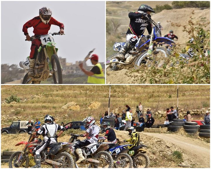 Exciting afternoon of racing in 5th Round of Gozo Motocross Championship