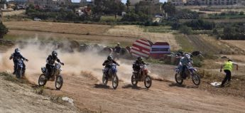 Quarter Finals of the Gozo Motocross Championship held on Sunday