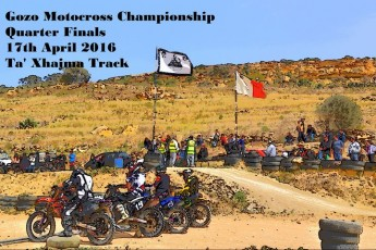 Quarter Finals of the Gozo Motocross Championship this Sunday