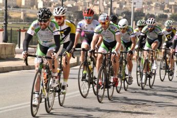 GO Gozo Classic Annual Cycling Road Race held in Xaghra