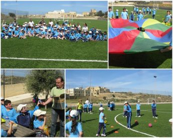 Gozo College Gharb Primary sports field day for students