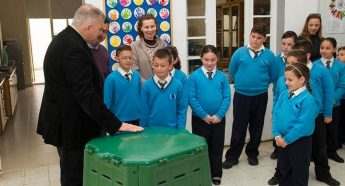 Gharb Primary School campaign to increase the use of composting