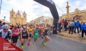 Chetcuti, Attard Pulis win 41st Teamsport Gozo Half Marathon
