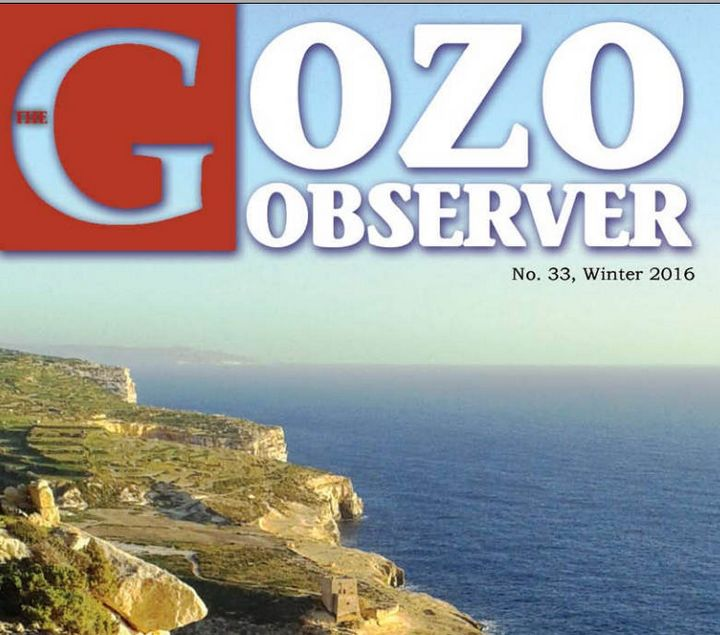 The Gozo Observer: 33rd edition issued by the Gozo Campus