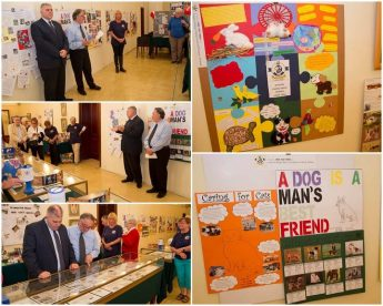 Gozo SPCA 40th anniversary exhibition inaugurated in Victoria