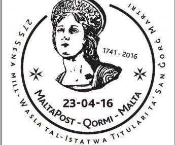 275 Sena mill-wasla tal-Istatwa Titulari ta' San Gorg Martri - Qormi