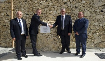 HSBC Catch the Drop Campaign project inaugurated at Ghar Ilma, Gozo