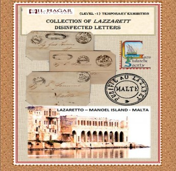 Exhibition of disinfected Letters at Il-Hagar Museum in Victoria