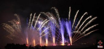 International Fireworks Festival displays in Xaghra on Saturday