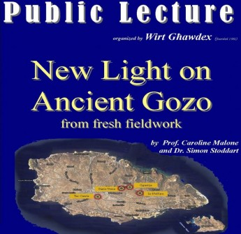 Wirt Ghawdex public lecture - New Light on Ancient Gozo
