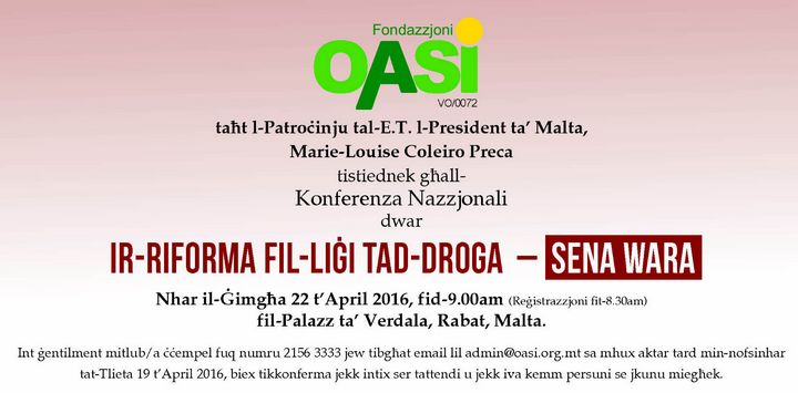Drugs reform law - one year after: OASI national conference