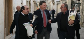 Sant nominates Malta Band Clubs Assoc. for European Citizens Prize