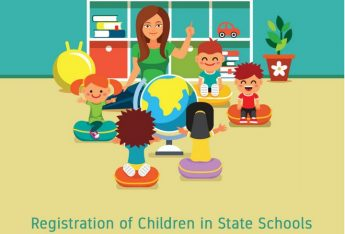 Registration of children in State Schools for Kindergarten 1