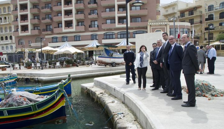 €729,000 Menqa project inaugurated in Marsalforn, Gozo