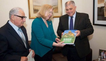 U.S. Ambassador G. Kathleen Hill pays an official visit to Gozo