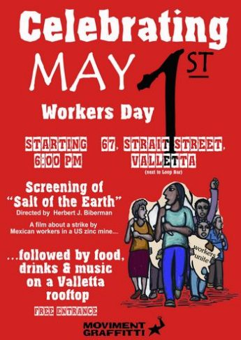 Moviment Graffitti: May Day reminds us of workers' struggles