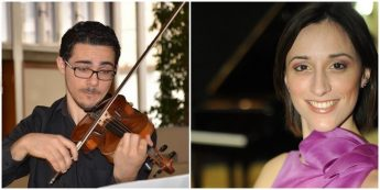 Two recitals by violinist Pierre Louis Attard & pianist Gisele Grima