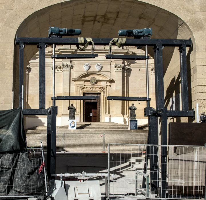 Gozo Citadel Archway mechanical door cost € 398,443
