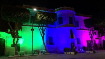 Gozo lit up to mark International ME/CFS & FM Awareness Day