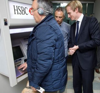 HSBC Malta supports visually Impaired customers in Gozo and Malta