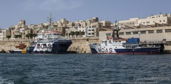 MOAS deploying 2 ships & 2 drones to the Mediterranean 'dead zone'