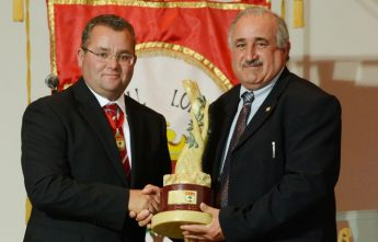 Joe Bajada presented with the 'Gieh iz-Zebbug 2016' Award