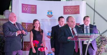 Magro Brothers celebrate 100th anniversary with a `festa' event