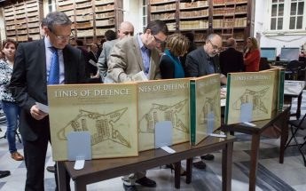 Fortification Drawings of Baroque Age at National Library of Malta