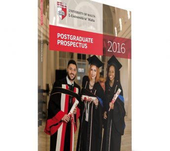 University of Malta Postgraduate Prospectus 2016/7 launched