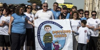 Great turnout for Gozo Hospital Fun Walk in aid of Puttinu Cares