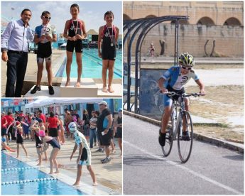 Gozo youngster wins 3rd place at Kids & Youths Triathlon in Malta