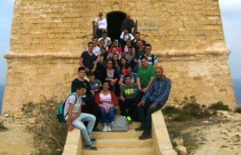 Botanical expert from EcoGozo leads two outdoor activities