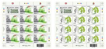 `Think Green' Stamp issue features Ta' Kola windmill, Xaghra