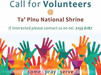 Ta' Pinu National Shrine issues a call for volunteers