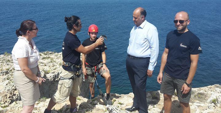 BirdLife Malta releases hand-reared Yelkouan Shearwater back in the wild