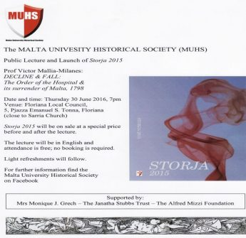 MUHS Public Lecture and launch of 'Storja 2015'