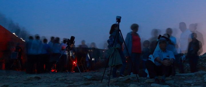 Keen participation by all ages at Gozo astronomy night