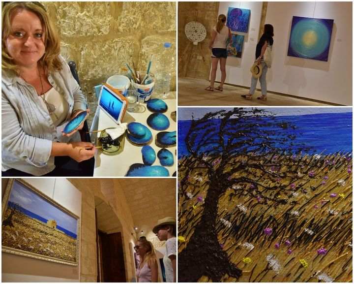Exhibition at the Citadel, Gozo: 3 Themes, 2 Artists, 1 Venue
