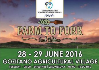 Farm to Fork next week at the Gozitano Agricultural Village