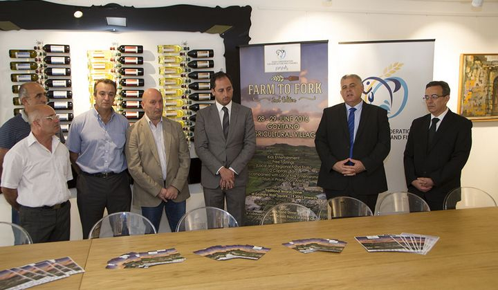 Farm to Fork official launch at the Gozitano Agricultural Village